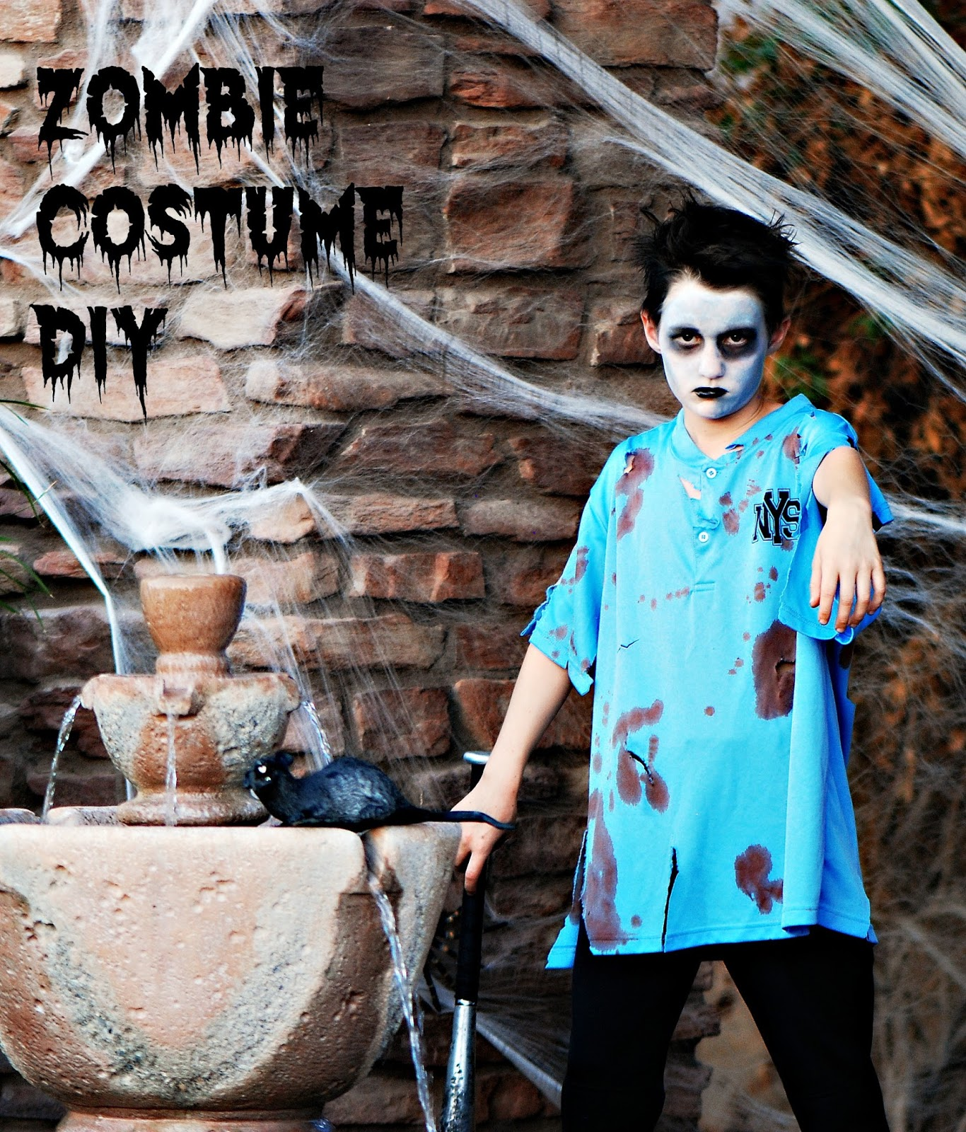 Watch How to Create a Zombie Costume video