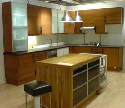 Lindos gabinetes de cocina de bamb cocina y muebles for Disenos de gabinetes de cocina