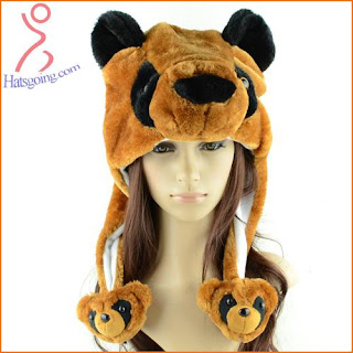 Bear animal hats