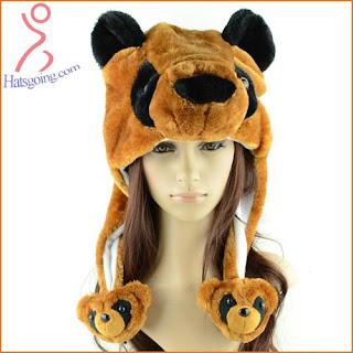 Bear animal hats
