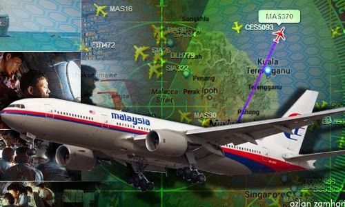 "Pesawat dipesongkan oleh ""seseorang"" ke Kepulauan Andaman"