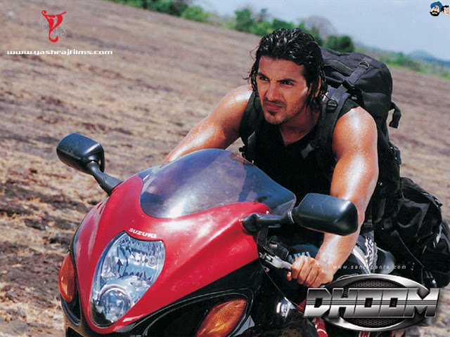 John Abraham in 'Dhoom' Movie