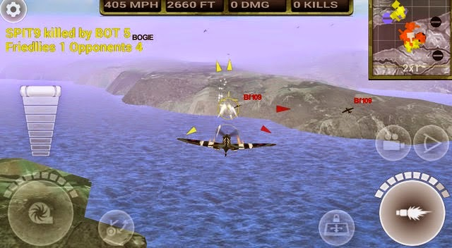 FighterWing 2 Flight Simulator game