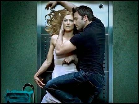Rosamund Pike y Ben Affleck en 'Perdida' (David Fincher, 2014)