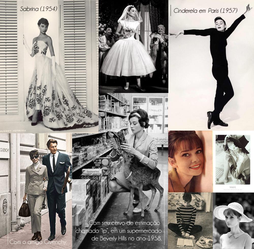 Dia a dia de Audrey Hepburn