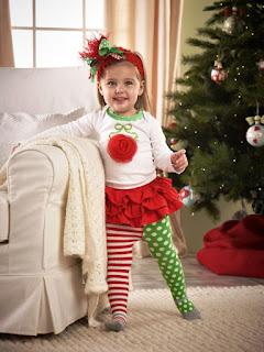 Model Baju Natal Untuk Anak Cewek
