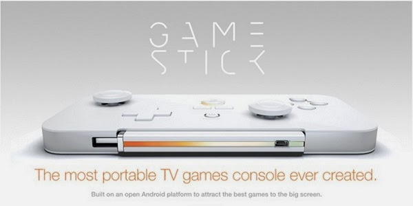 Take away your gaming anywhere you go with portable console, Gamestick