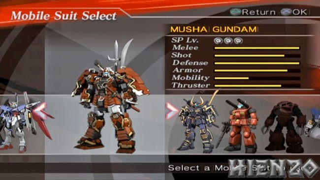 Mobile Suit Select