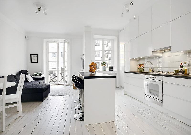 Hogblankt Vitt Golv Till Kok :  vitt golv, men det or vackert ondo So grattis till er som klarar