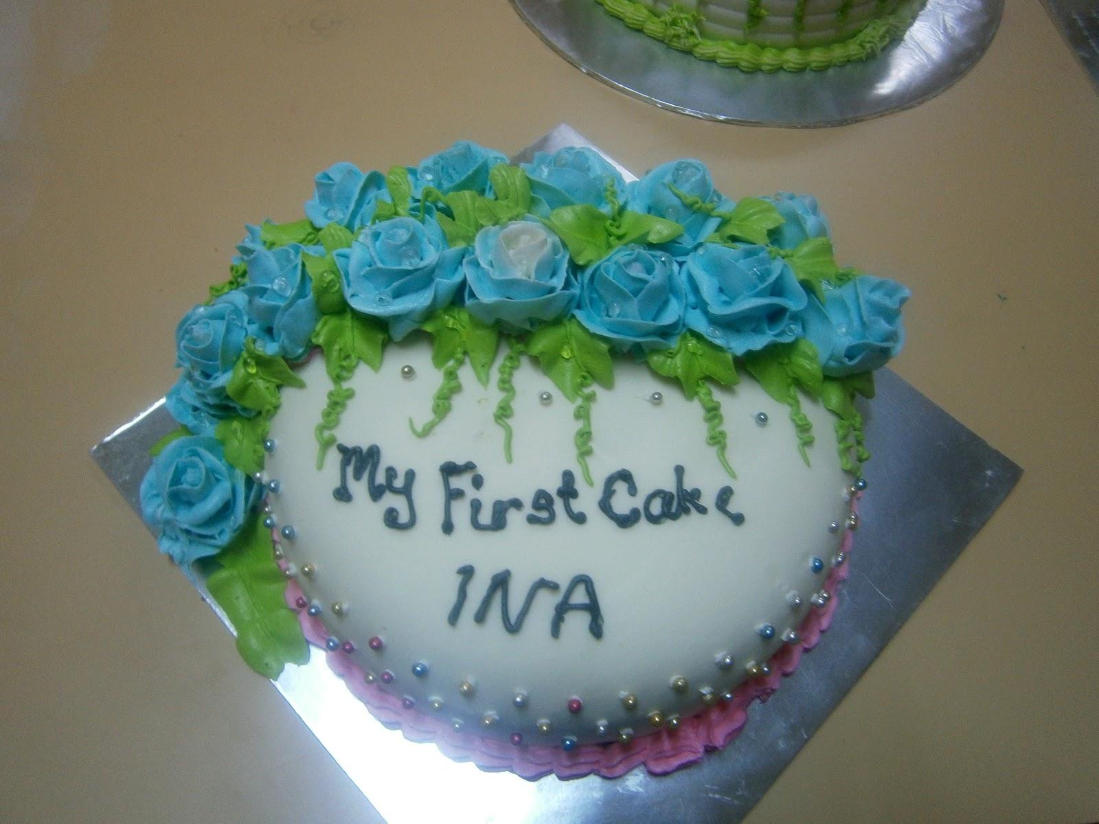Shyieda Gateaux Homemade Melaka: Cake Decorating Class