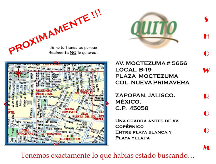 "Proximamente Show Room "" Chimeneas QUITO """