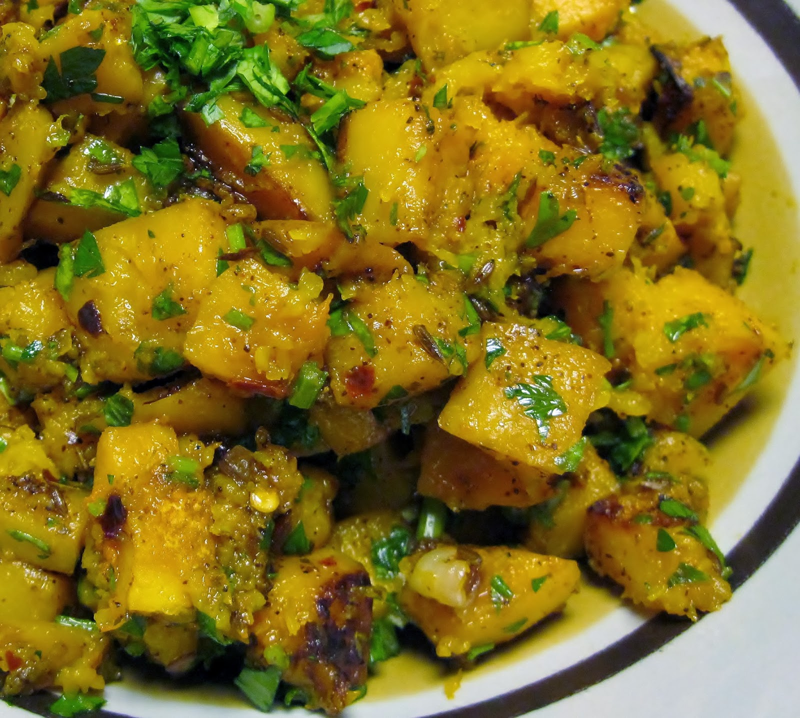 cumin roasted butternut squash