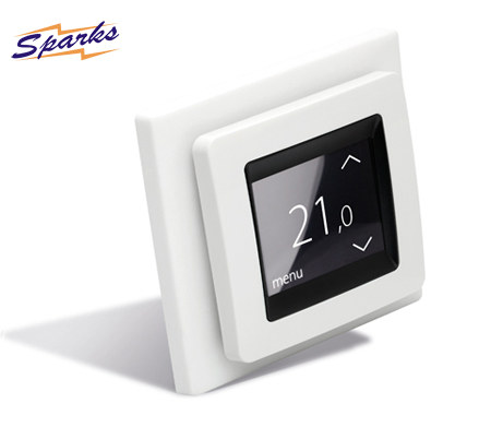 Touch Screen Thermostat for regulating the temperature