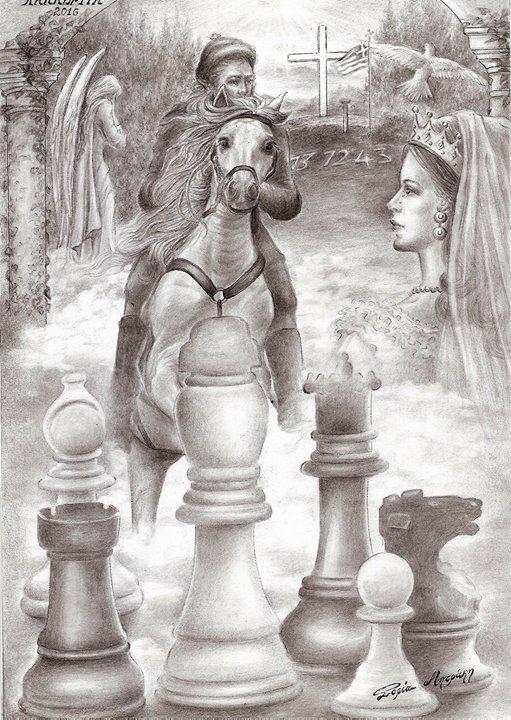 chess  carton  festival kalavrita   first   prize