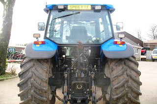 Tractor New Holland TM 130 5 734604 Tractoare New Holland TM130 second hand de vanzare 130CP An 2006
