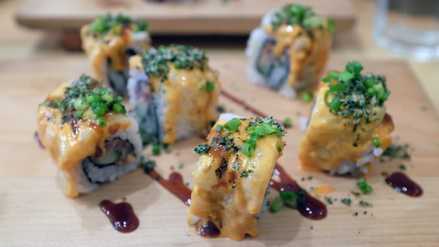 Neil Writes About Ooma Japanese Rice Bar Aburi Maki
