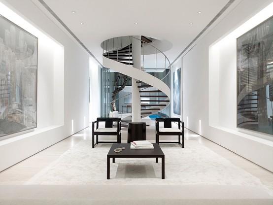 Mil Ideias De Decora O Escadas Em Caracol Modernas