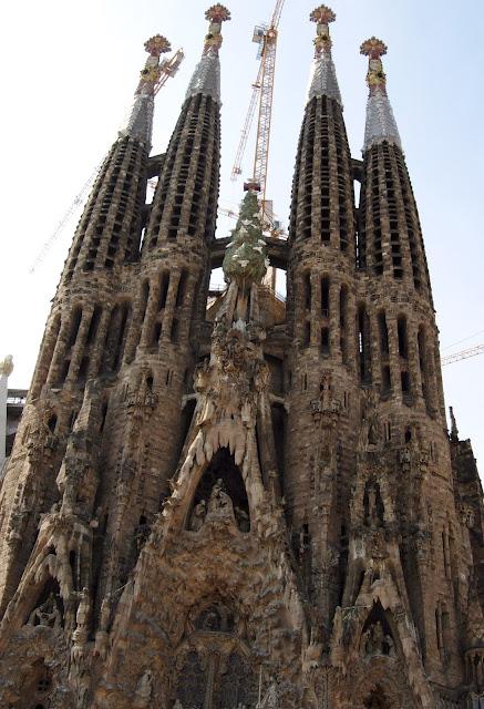 Sagrada Familia, Barcelona, Antoni Gaudi