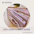 "СП ""Simple minis""в блоге My-scrap"