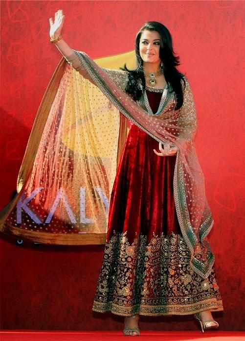 Aishwarya Rai Anarkali Suit