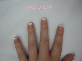french manicure,manicure,at home manicure,chic