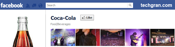 Coca-Cola on Facebook, Food/Beverages