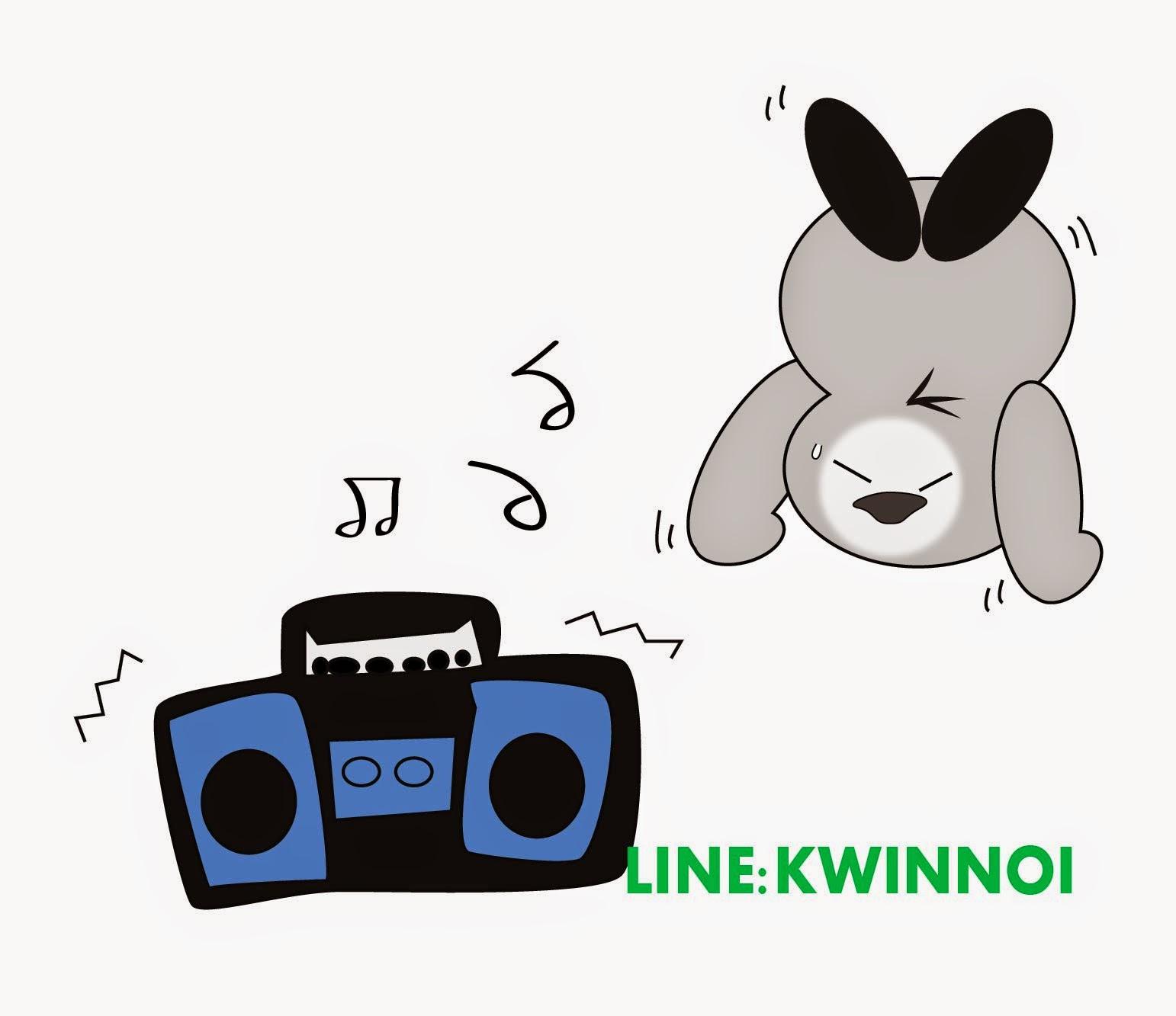 Get line stickers KWINNOI