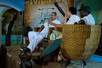 Foto: Peterson Azevedo - Germano Almeida, João Coutinho e Camilo Afonso