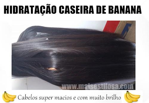 SUPER HIDRATAÇÃO CASEIRA COM BANANA FUNCIONA DE VERDADE