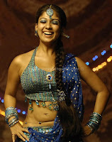 Nayanthara, showing, hot, navel, stills