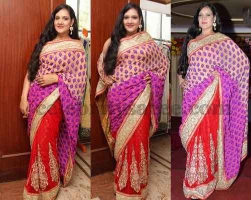 Muskhan Half and Half Saree