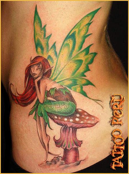 fotos de tatuajes de hadas: