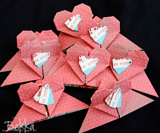 Everyday Enchantment Heart Corner Bookmarks