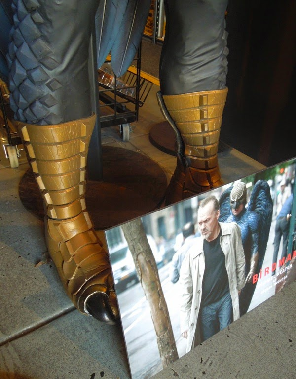 Birdman movie costume boots