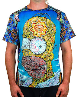 Psychedelic Homer shirts from Visionlab!