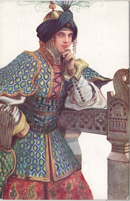 Vasilisa Mikulishna, (art nouveau), par Sergey Solomko