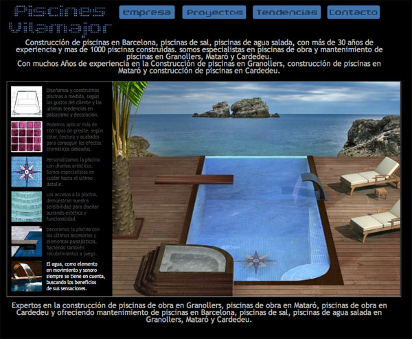 Mobile web social media marketing marbella construcci n for Piscinas de sal