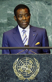 Teodoro Obiang Nguema Mbasogo-President of Equatorial Guinea