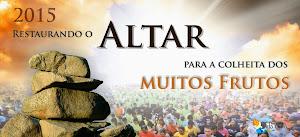 2015 RESTAURANDO O ALTAR