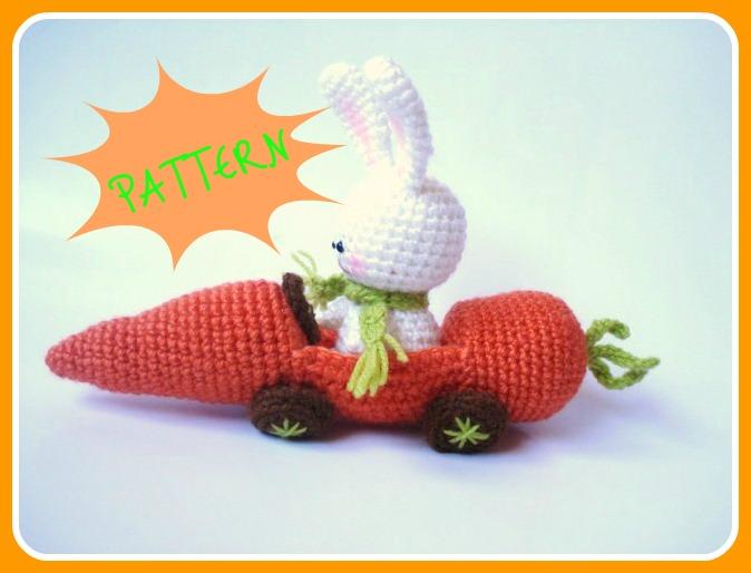AllSoCute Amigurumis: PDF Amigurumi Crochet Bunny and ...
