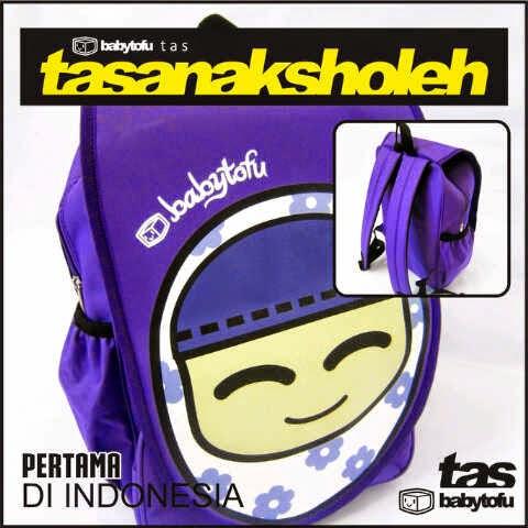 model tas anak sholeh ungu tas sekolah