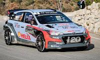 Hyundai i20 ilk yarışta 3.cü