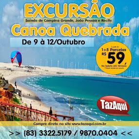 EXCURSÃO CANOA QUEBRADA