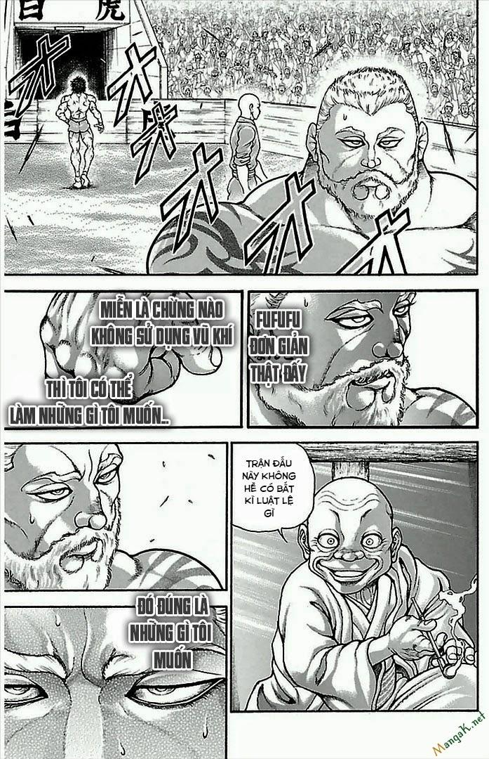 Baki Dou chap 3 Trang 12 - Mangak.info