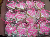 Fancy Cookies - Warna tema pink dan putih