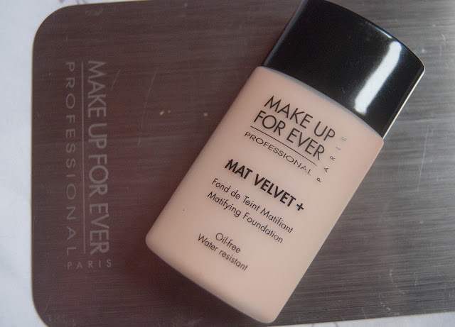 Epic Fail: Make Up For Ever Mat Velvet Foundation