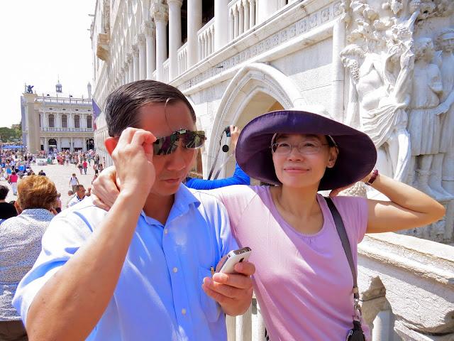 Venice couple shot