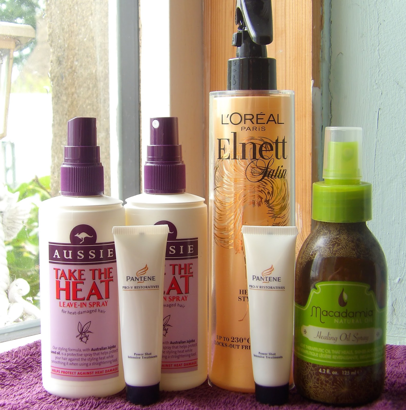 Hair Care Empties