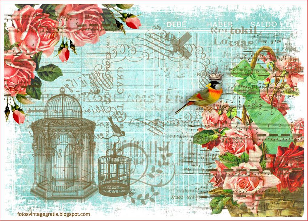 Imagenes de flores vintage para imprimir - Laminas antiguas para cuadros ...