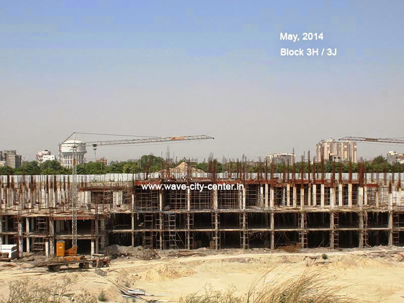 Construction Update May 2014 Block 3H and 3J